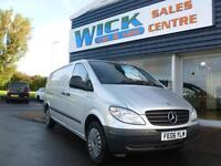 2006 Mercedes-Benz VITO 111 CDI EXTRA LONG LWB Van *1 OWNER* Manual Medium Van