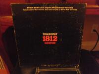 ZUBIN MEHTA TCHAIKOVSKY 1812 RECORD