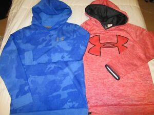 2-Under Armour Hoodies .... boys size 10/12