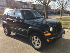 2005 Jeep Liberty Rocky Mountain edition SUV, Crossover