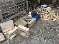 Hardcore rubble bricks free