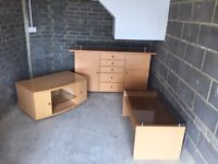 Sideboard, Coffee Table and TV Stand
