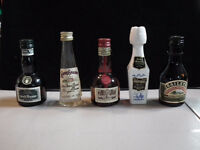 Miniature Liquor Bottles (Vintage & Recent)