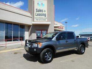 2014 Nissan Titan PRO-4X/Leather/Ads No Credit Check Financing