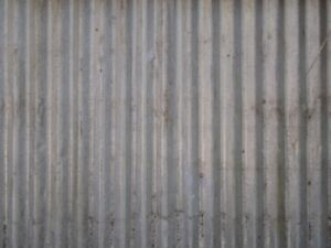 Looking for Corrugated metal sheets.