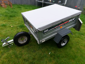 Erde 122 Tipping Trailer With New Load Cover and Spare Wheel