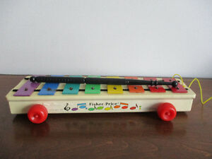 Xylophone    Vintage  De  Fisher Price  1964
