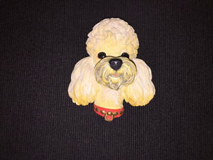 BOSSONS ENGLAND CHALKWARE--POODLE