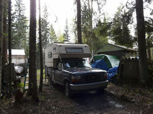 Looking to trade our 8' Camper for a  travel trailer