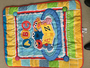 ABC Sesame Quilt and Padding Crib or Playpen Set