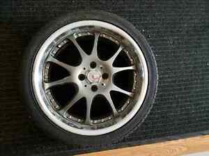 "17"" vox racing rims Kitchener / Waterloo Kitchener Area image 1"