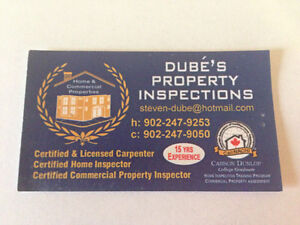 Dube's Property Inspections , Home and Commercial