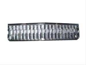 For 1986-1990 Chevy Caprice Impala Grille Chrome Argent