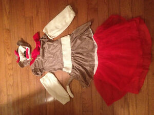 Youth dress up like a sock monkey!