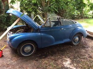 Morris  parts car