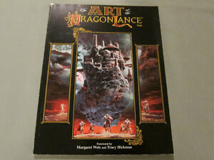 The Art of the Dragonlance Saga (2nd Edition) Paperback 1998