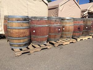 LOOK > 220 x Oak Bourbon Whiskey Barrels & 90 x Oak Wine Barrels Edmonton Edmonton Area image 3