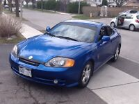 2004 Hyundai Tiburon Original 5star rims Coupe (2 door)