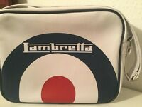 Preloved - Genuine White, Blue & Red Lambrella Bag