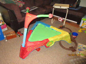 Indoor electronic trampoline, good condition