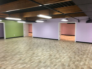 Yoga space for lease