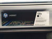 NEW HP 131X High Yield Black Original LaserJet Toner Cartridge