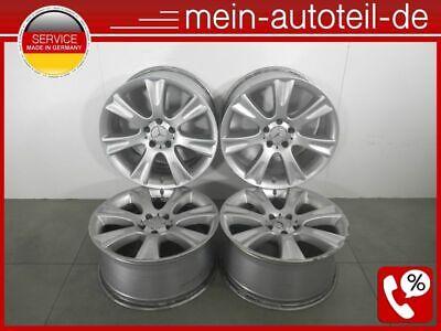 """Mercedes S211 4 Original Alufelgen 18"""" Zoll 9,5Jx18 ET33 5x112 2194010602 2194 D"""
