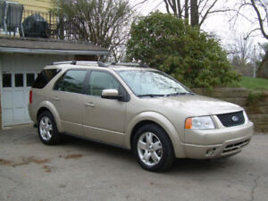 2006 FORD FREESTYLE LIMITED-AWD-LEATHER-SUNROOF-7 PASSENGERS