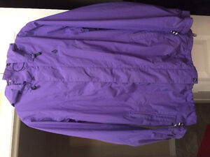Volcom boarding coat- purple