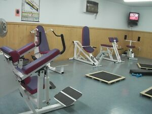 Hydraulic exercise equipment