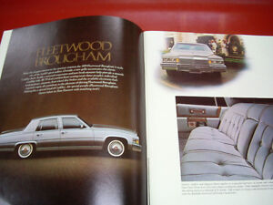 1979 Cadillac sales brochure Peterborough Peterborough Area image 2