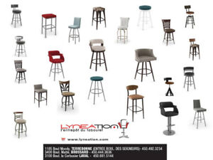 COUNTER STOOL MADE IN QUEBEC