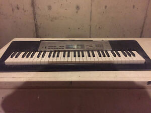 Casio Lighted Keyboard and Stand