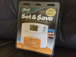 NEW HUNTER PROGRAMMABLE THERMOSTAT