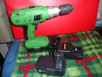 24 Volt Rechargable 1 /2 Inch Drive Hammer Drill $60.