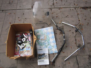 Assorted motorcycle parts for sale