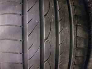 PAIR OF 295 35 21 YOKOHAMA TIRES