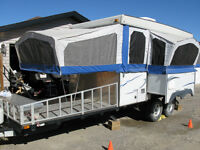 36rt Starcraft Toy Hauler Tent Trailer