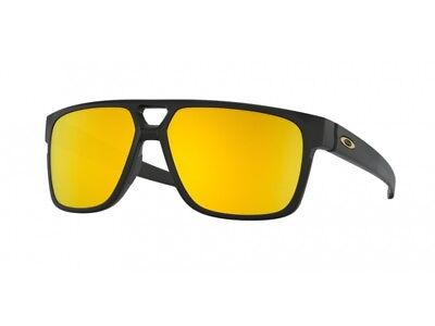 Oakley Crossrange Patch sunglasses Matte Blck 24K Iridium OO9382-2360 Authentic
