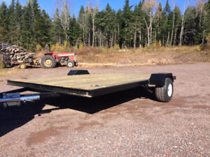 Atv/Snowmobile Trailer