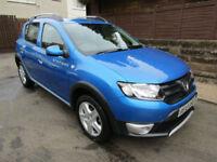 2014 (14) Dacia Sandero Stepway 0.9 (90bhp) Ambiance 5 Door Hatchback Petrol