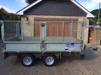 Ifor Williams LM105 G HD heavy duty caged mesh trailer