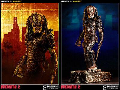 Sideshow Predator 2 City Hunter Predator Maquette Statue MISB Low #3/1000