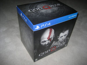 PS4 - GOD OF WAR Collector Edition Game