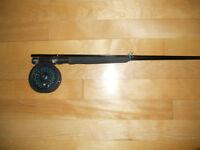 Canne moulinet a mouche Berkley, Fly fishing rod and reel
