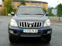 2006 TOYOTA LAND CRUISER 3.0 D-4D LC5 5DR WITH TOP SPEC+SUNROOF+8 SEATS