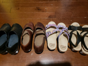 Dansko clogs and sandals size 10.5 (41)