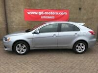 2010 (60) MITSUBISHI LANCER GS2 DI-D, 1 YEAR MOT, NOT FOCUS ASTRA LEON IMPREZA 308 GOLF A3