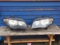 Mg zs headlights and fog lights