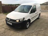 VOLKSWAGEN CADDY 1.6 tdi White, Manual,, 2013 63 54000 miles